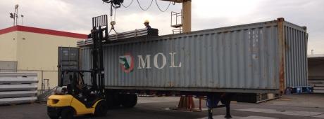 Crane Unload